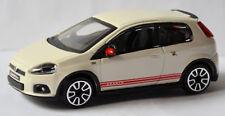 Fiat Abarth Grande Punto 2014 blanc blanc 1:43 Bburago