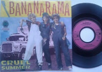 "Bananarama / Cruel Summer / Cruel Dub 7"" Single Vinyl 1983"