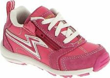 New Stride Rite Athletic Shoes  Zips Lace Pink White 8 M