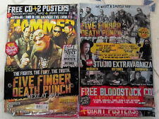 METAL HAMMER + 15-Track CD Aug 2015 FIVE FINGER DEATH PUNCH + 2 POSTERS Ghost +
