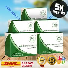 5 Boxes / 30 Sachets BIO Herbs Coffee Power Men's for Him DHL Express