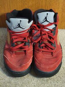 Nike Air Jordan 5 V  DMP Raging Bull Red -  136027 601 - Men's Size 11.5