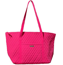 Vera Bradley Extra Large Miller Travel Bag Tote Carry On Handbag Fuchsia New NWT