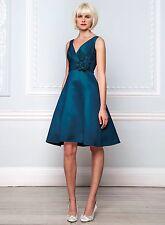 BHS Cecilia Bridesmaid Dress Ocean Size 14, 20