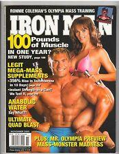 IronMan Bodybuilding muscle mag/Barry Kabov Karen McDougal/Adela Garcia 11-05