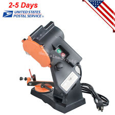 ELECTRIC GRINDER CHAIN SAW BENCH SHARPENER VISE MOUNT GRIND CHAINSAW WHEEL FDA