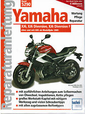 Reparaturanleitung Yamaha - XJ6, XJ6 Diversion, XJ6 Diversion F ohne + mit ABS