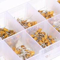500PCS Multilayer Ceramic Capacitor Assortment Kit 50V 0.1uF-10uF 10 Values*50