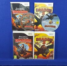wii HOW TO TRAIN YOUR DRAGON x2 Games 1 + 2 Nintendo PAL UK ENGLISH Version