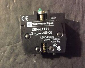 *New Telemecanique ZENL1111 Switch Contact Blocks