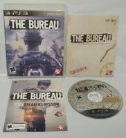 The Bureau XCOM Declassified  -  PS3 Sony Playstation 3 GAME Tested + Complete