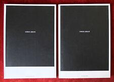 Giorgio Armani ~ Women/Men Fashion Collections Catalogs 2002 ~ Peter Lindbergh
