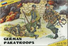 KIT ZVEZDA 1:35 SOLDATINI GERMAN PARATROOPS    ART 3514