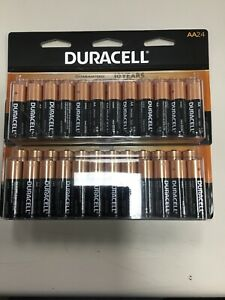 Duracell AA24 Batteries 2 Pack NIP  EXPIRES 2030