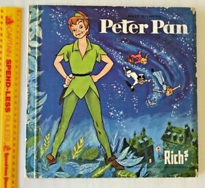 VINTAGE 1950s DISNEY'S PETER PAN RICH'S COFFEE DUTCH TRADING CARD BOOK COMPLETE!