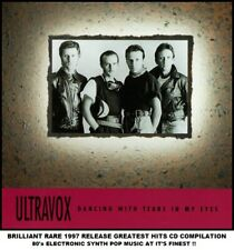 Ultravox The Very Best Greatest Hits Collection RARE 80's Synth Pop Midge Ure CD