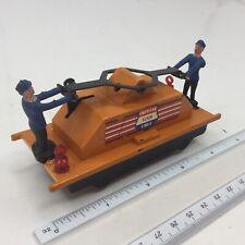 Vintage American Flyer Lines 749 Orange Reversing Handcar 4 1/5 Inches Long USA