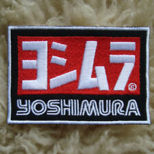 """4.00""""x1p. yoshimura japan muffler racing embroidered iron on or sew patch"""