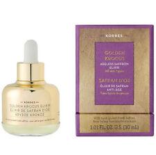 KORRES GOLDEN KROCUS Ageless Saffron Elixir for All Skin Types (30ml/1.01 oz)