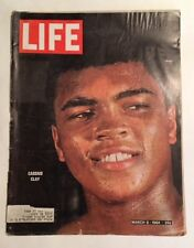 Life Magazine March 6, 1964 - 25 Cents>>Cassius Clay - Muhammad Ali Front Cover