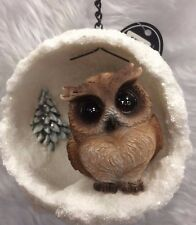 Brown Owl Bauble Vivid Arts Frost Resistant £10.99 Now £8.00