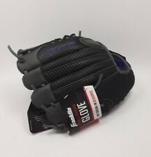 "Franklin 11"" Fastpitch Pro Series Softball Glove RHT Purple/Grey no break in req"