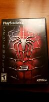 Spider-Man 3 (Sony PlayStation 2, 2007) PS2 - & needs repair (by you if you buy)