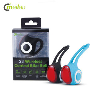 USB RECHARGEABLE ANTITHEFT ALARM & LIGHT MEILAN S3 Wireless Remote 120DB HORN