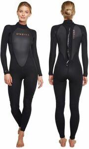 Oneill Womens Long Sleeve Reactor 3mm 2mm Steamer Wetsuit