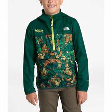 NWT The North Face Fanorak Windbreaker Jacket Coat Big Foot Green Garden L 14/16