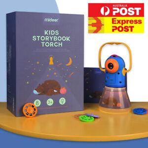 Kids Children Nightlight Story Projector Torch 3-in-1