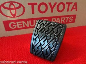 Toyota Brake or Clutch Pedal Pad Celica Pickup 4Runner Corolla Starlet FX16 OEM