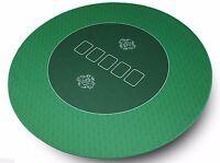 Runde Profi Poker Tischauflage 100cm  – Pokertuch – Pokerauflage – Pokermatte