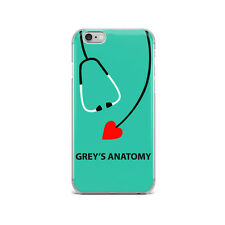 Grey's Anatomy Art inspired TPU Silicon iPhone Case Collection