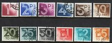 GB 1982 Postage Due set to £5 very fine used