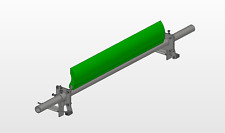 More details for primary belt scraper cleaner / with fitting kit 500mm wide poly blade