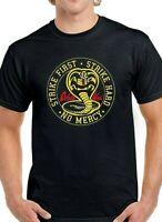 Cobra Kai Karate Kid  Man T-shirt Movie Martial Arts Retro Kung Fu Top Gift No