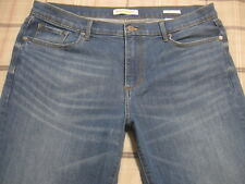 Banana Republic Jeans Straight 33 L Classic Fit Stretch 33 Long 34 a9 NICE~!!
