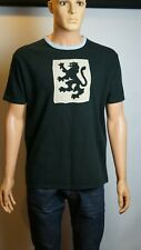 Vintage RETRO London T-Shirt Men's Decorated Size XL 38/39in Black Great Quality