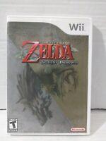 The Legend of Zelda: Twilight Princess (Wii, 2006) TESTED & WORKING