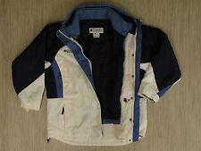 Columbia White Light Blue Coat Women's Size Medium Includes Warm Liner Zip Up