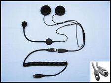 IMC Headset for Open Face Helmet -Fits Can Am Spyder, Victory, Kawasaki HS-V130