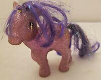 My Little Pony - VINTAGE G1 Twinkler 1984 Pony Sparkle Glitter Pink Purple R26
