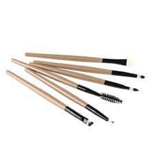 6PCS Cosmetic Makeup Brush Lip Makeup Brush Eyeshadow Brush Gold