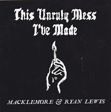 Macklemore & Ryan Lewis STICKER 2016 Official Promo This Unruly Mess I've Made
