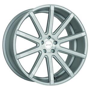 4x CORSPEED DEVILLE Felge 9x21 Silver Audi Q3 Skoda Kodiaq VW Tiguan T-ROC