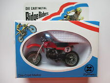 HONDA CR 250 R cross???, ZYLMEX Ridge Riders/Hong Kong in 1:24 Boxed!