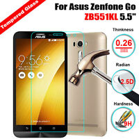 Premium 9H Tempered Glass Film Screen Protector For Asus Zenfone Go ZB551KL 5.5""