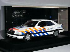 Minichamps 1993 Mercedes-Benz W202 C-Class Saloon Dutch Police (Politie) 1/43