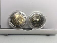 2x 2€ Euro Commemorativi FINLANDIA 2004 + SLOVENIA 2007 ( SAN MARINO Vaticano )
